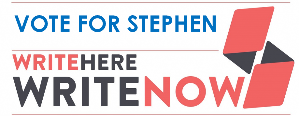 Vote for Stephen
