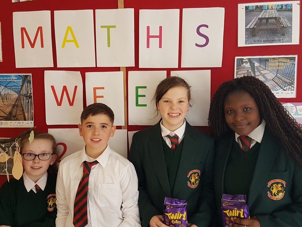 Form 1 - Maths Quiz Winners